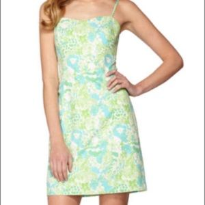 Lilly Pulitzer McCallum Fitted Tie Back Dress